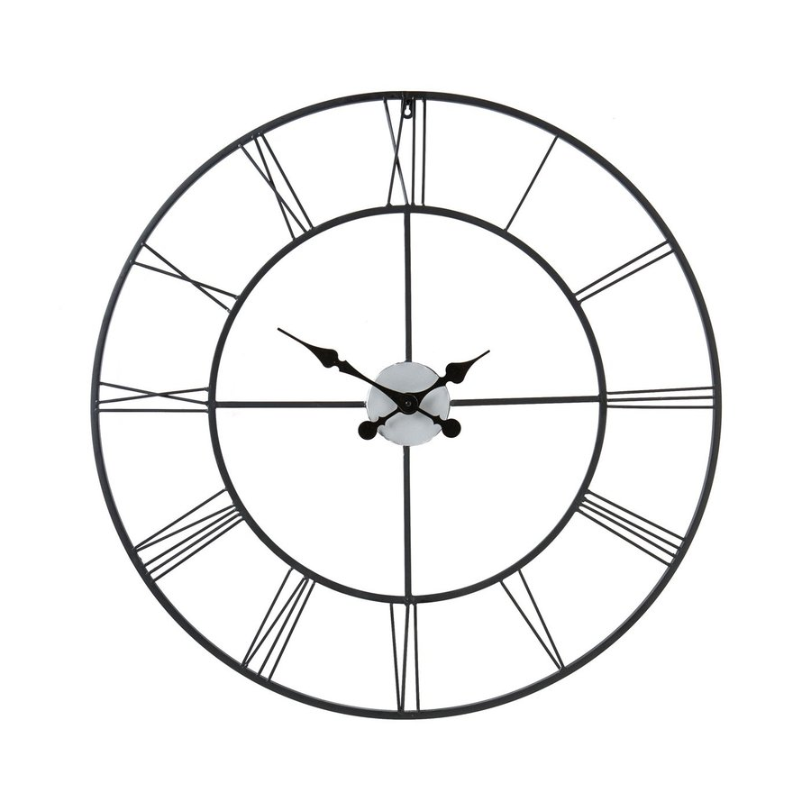Boston Loft Furnishings Roma Analog Round Indoor Wall Standard Clock