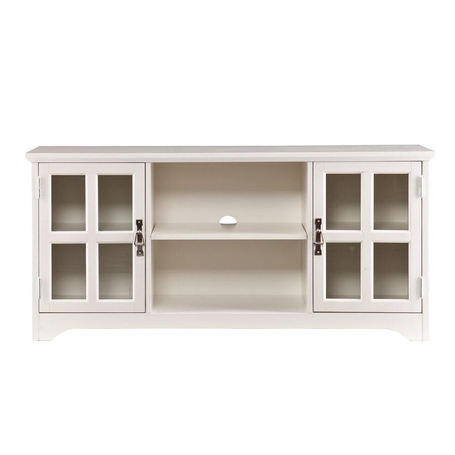 Boston Loft Furnishings Hudson White Rectangular TV Cabinet