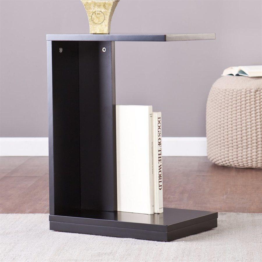 Holly & Martin Bocks Black (Composite) Rectangular End Table