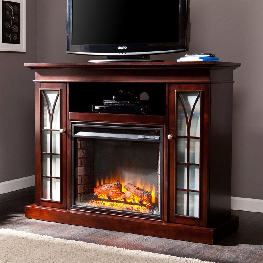 Shop boston loft furnishings 48 in w 5000 btu espresso Loft fireplace
