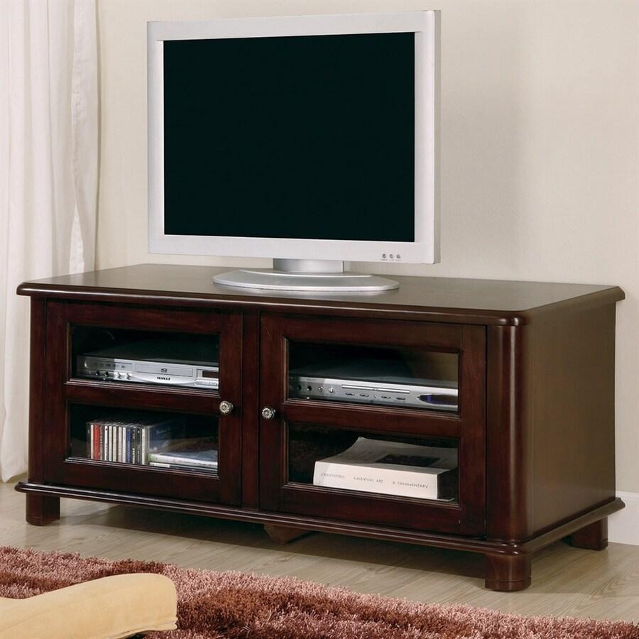Coaster Fine Furniture Cappuccino Rectangular Television Cabinet