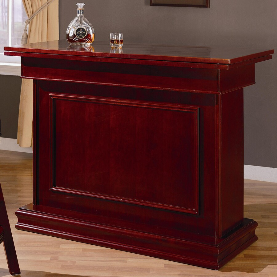 Coaster Fine Furniture Mitchell 53.25-in x 40.5-in Rectangle Mini Bar Bar