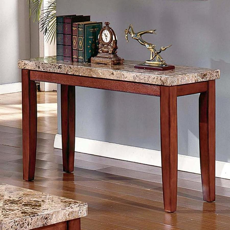Steve Silver Company Montibello Burnished Medium Cherry Birch Rectangular Console and Sofa Table
