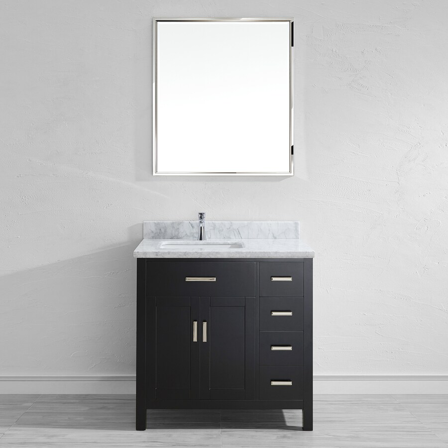 36 inch bathroom vanity with top