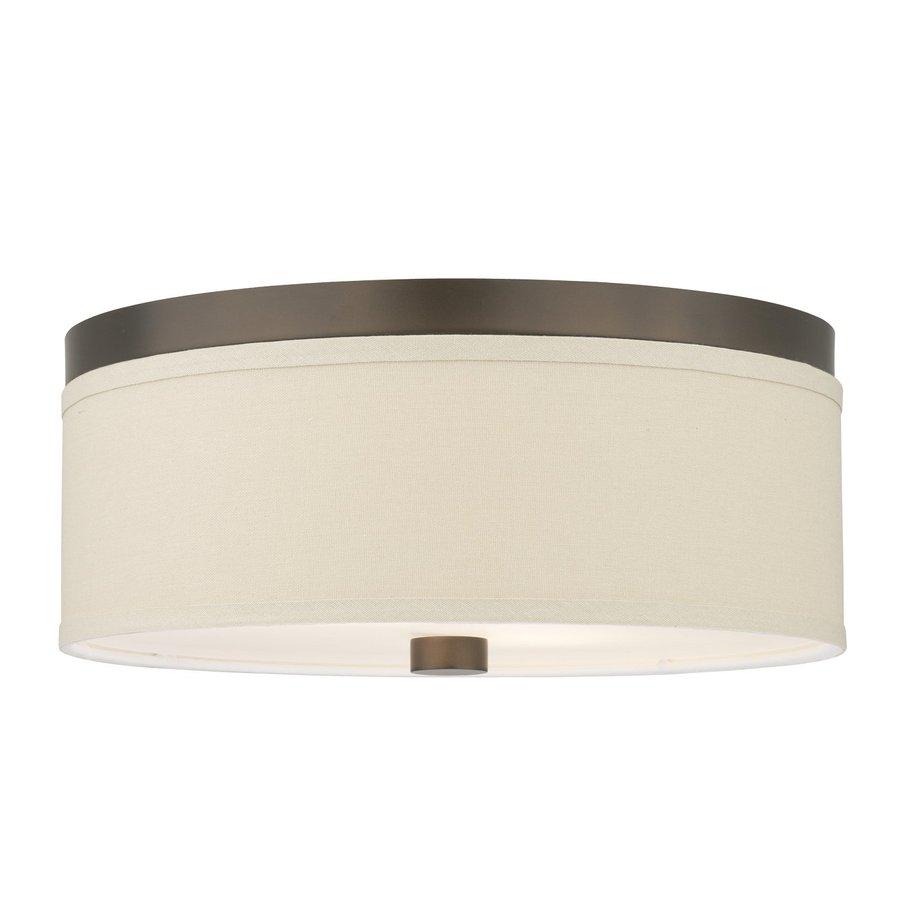 Philips Embarcadero 20.5-in W Sorrel Bronze Ceiling Flush Mount Light