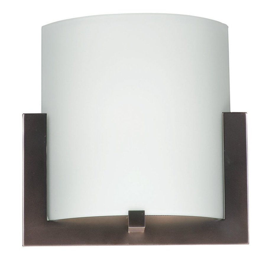 Philips 12-in W 1-Light Merlot Bronze Pocket Hardwired Wall Sconce
