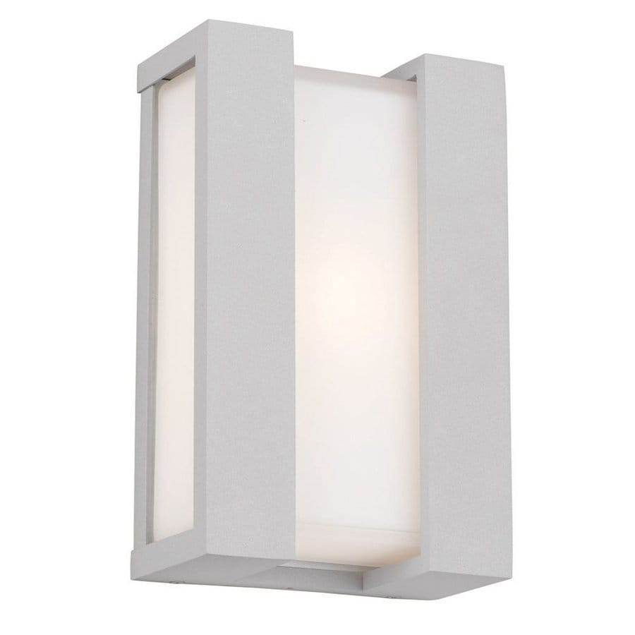 Philips Newport 11-in H Graphite Outdoor Wall Light