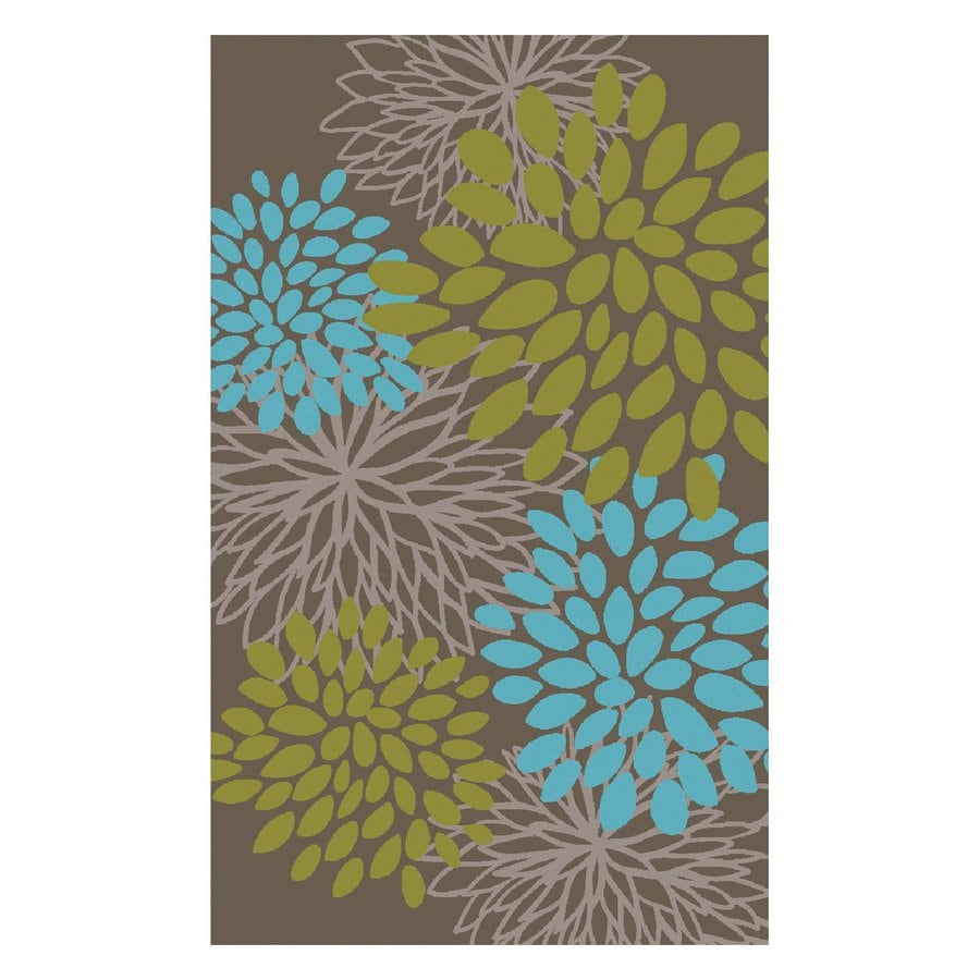 Surya Abigail Rectangular Indoor Machine-Made Nature Area Rug (Common: 5-ft x 8-ft; Actual: 5-ft W x 8-ft L)
