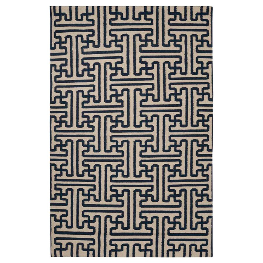 Surya Archive Tan Rectangular Indoor Woven Area Rug (Common: 8 x 11; Actual: 96-in W x 132-in L)