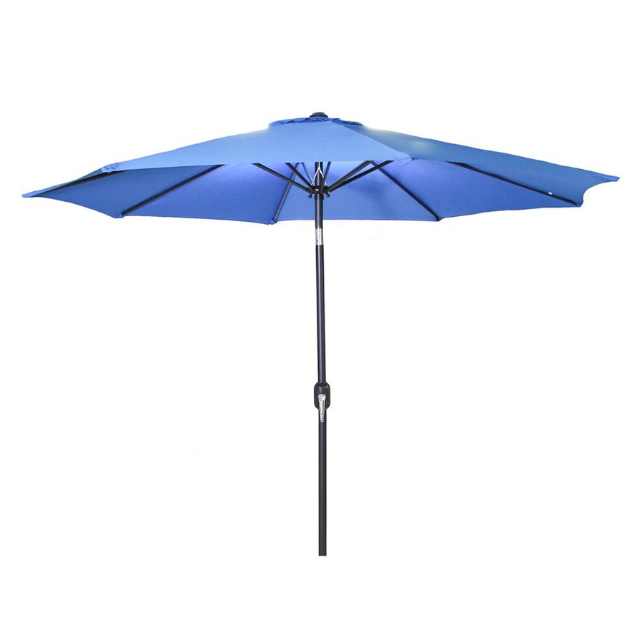 Jordan Manufacturing Royal Market Patio Umbrella (Common: 9-ft W x 9-ft L; Actual: 9-ft W x 9-ft L)