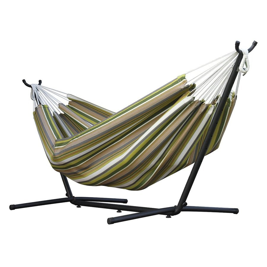 Vivere Carousel Limelight Fabric Hammock Stand Included