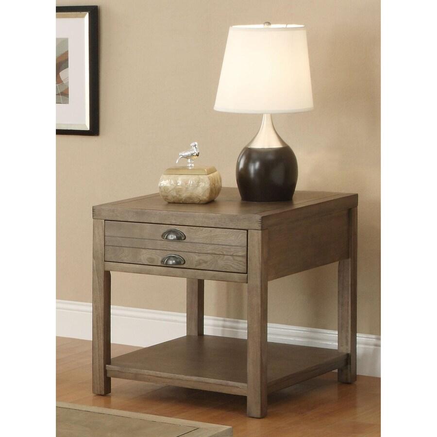 Coaster Fine Furniture Driftwood Rectangular End Table