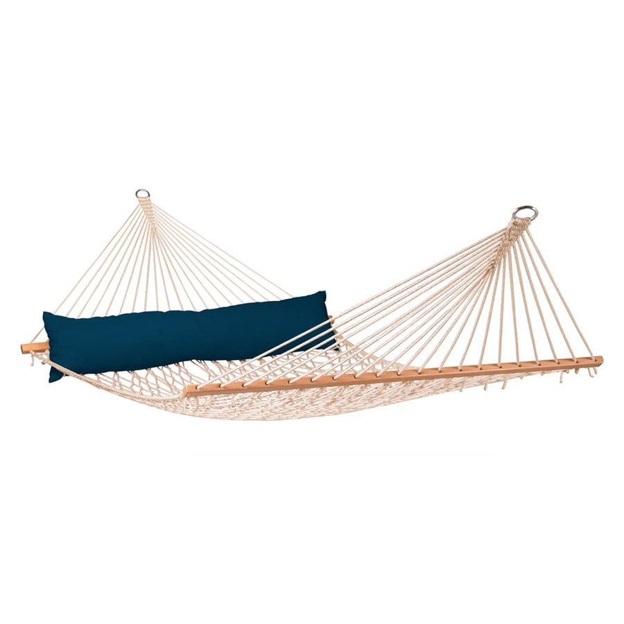 La Siesta California Navy Rope Hammock