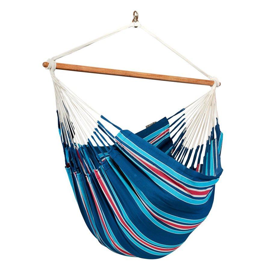 La Siesta Currambera Blueberry Fabric Hammock Chair