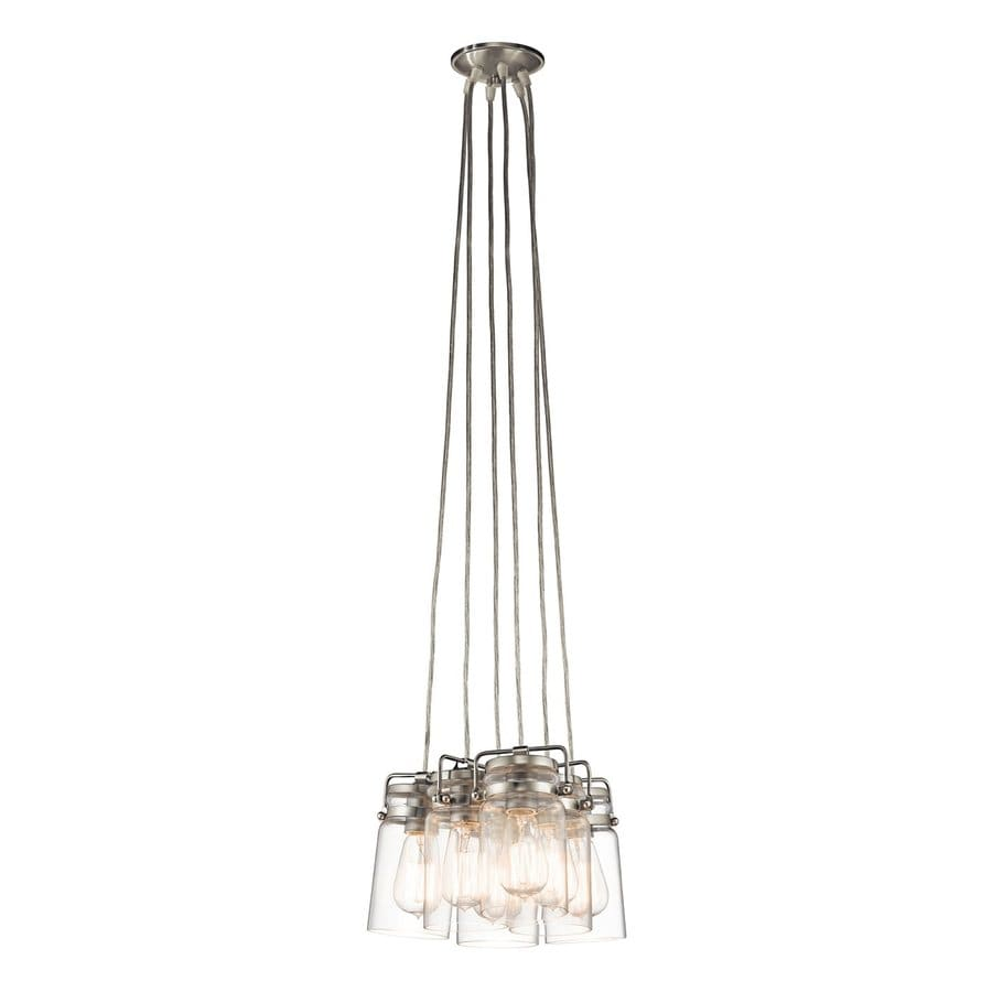 Shop Kichler Lighting Brinley 12 In Brushed Nickel