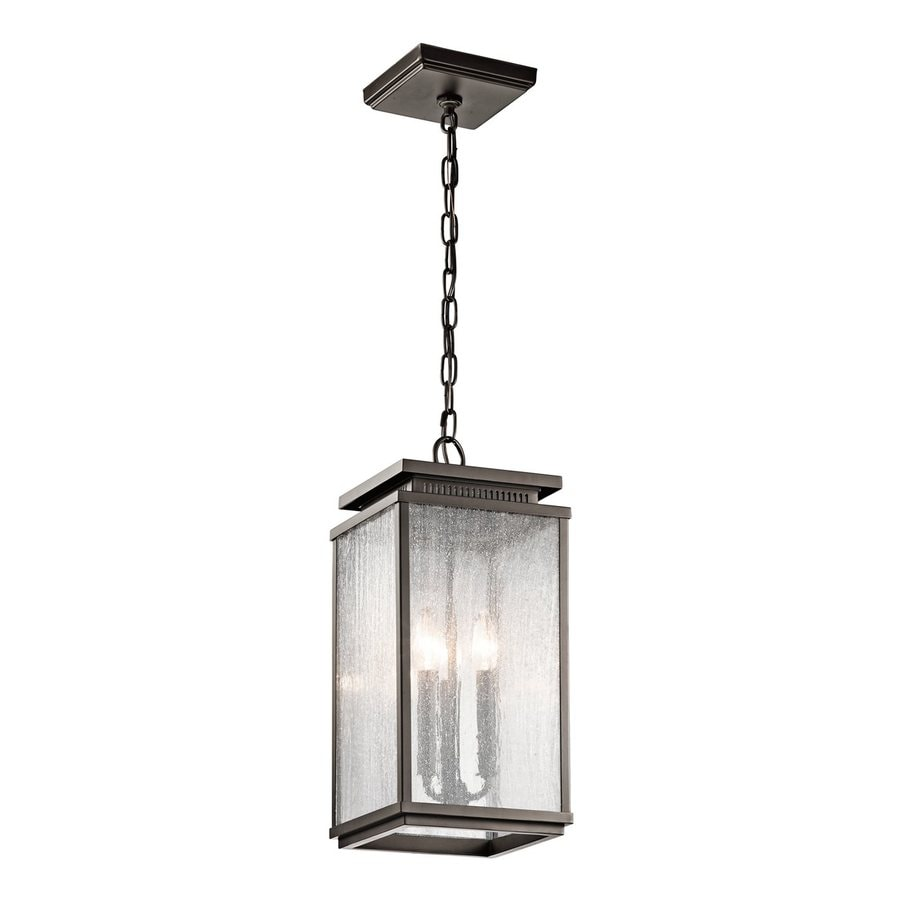 Shop Kichler Lighting Manningham 19 In Olde Bronze Outdoor