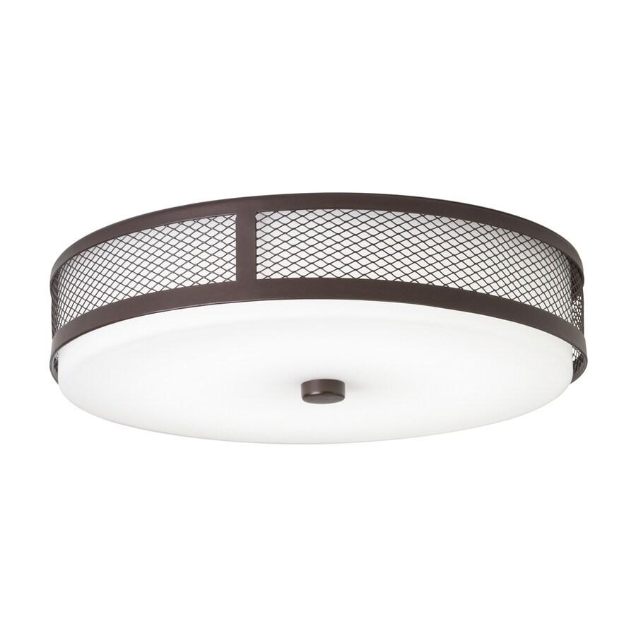 Kichler Lighting 13.25-in W Olde Bronze LED Ceiling Flush Mount Light