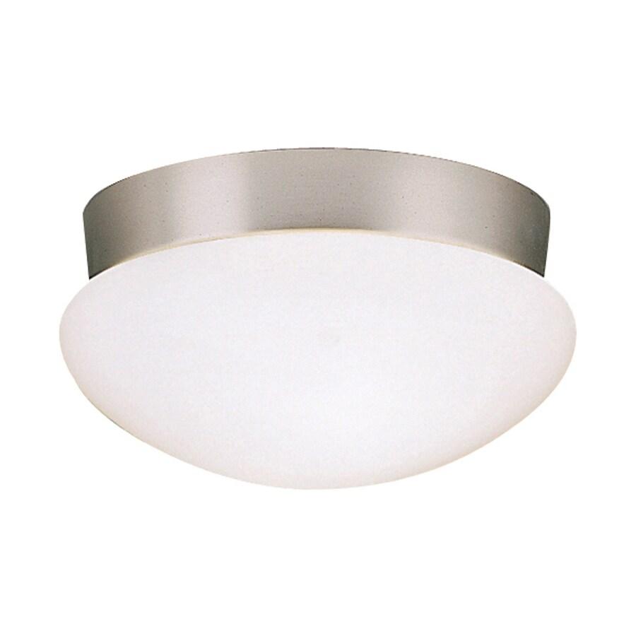 Kichler Lighting Ceiling Space 9.25-in W Brushed Nickel Ceiling Flush Mount Light