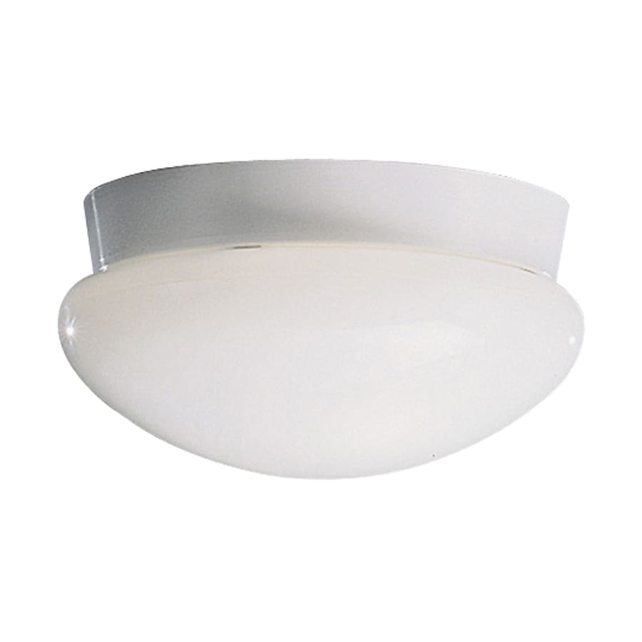 Kichler Lighting Ceiling Space 9.25-in W White Ceiling Flush Mount Light