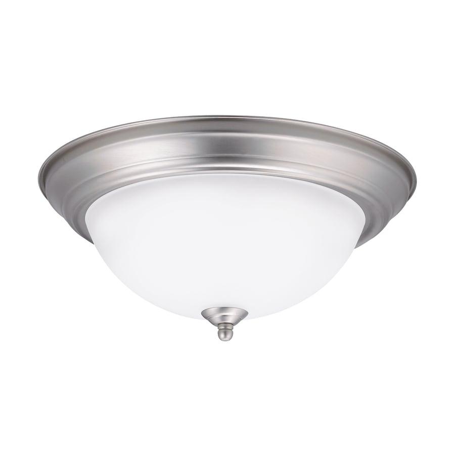 lighting w brushed nickel led ceiling flush mount light. Black Bedroom Furniture Sets. Home Design Ideas