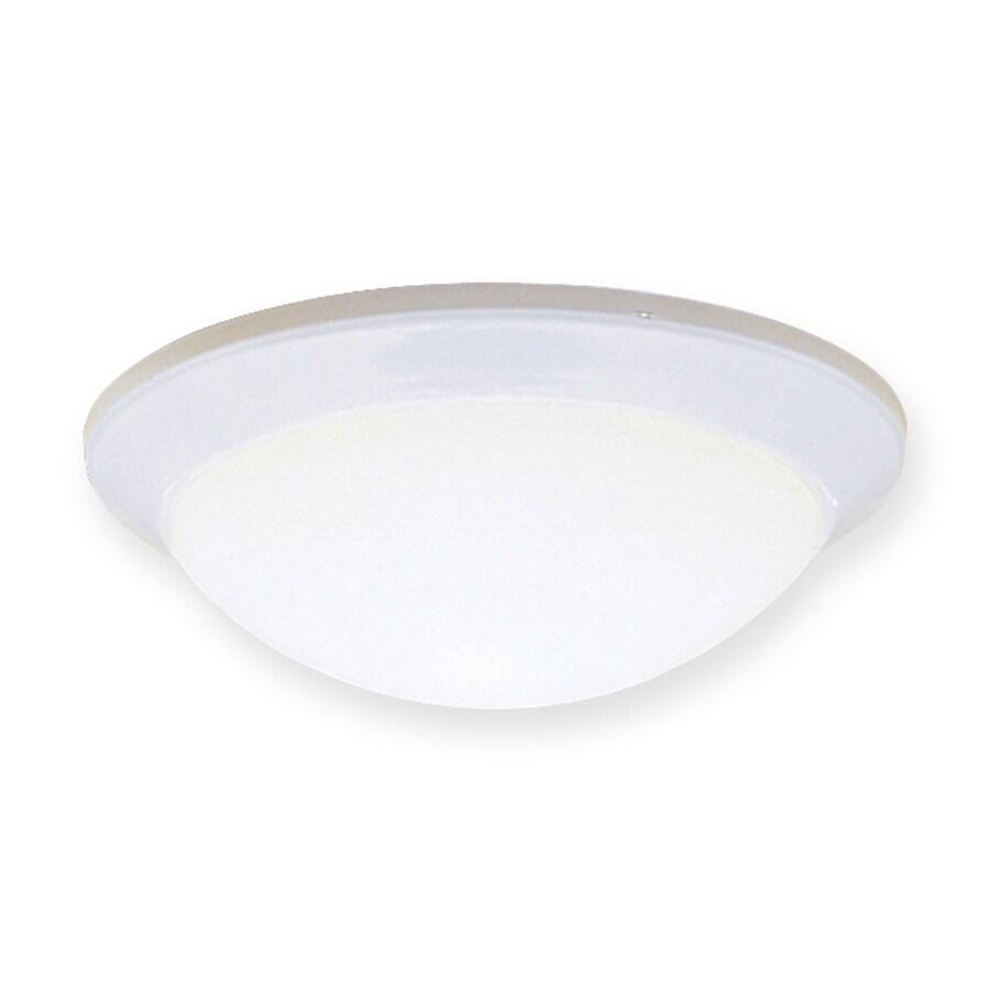Kichler Lighting Ceiling Space 14-in W White Ceiling Flush Mount Light