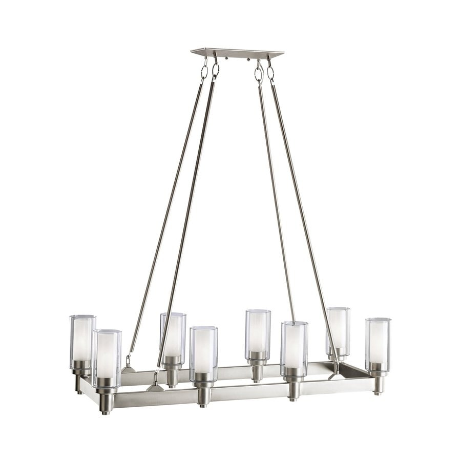 Shop Kichler Lighting Circolo 36.25-in W 8-Light Brushed