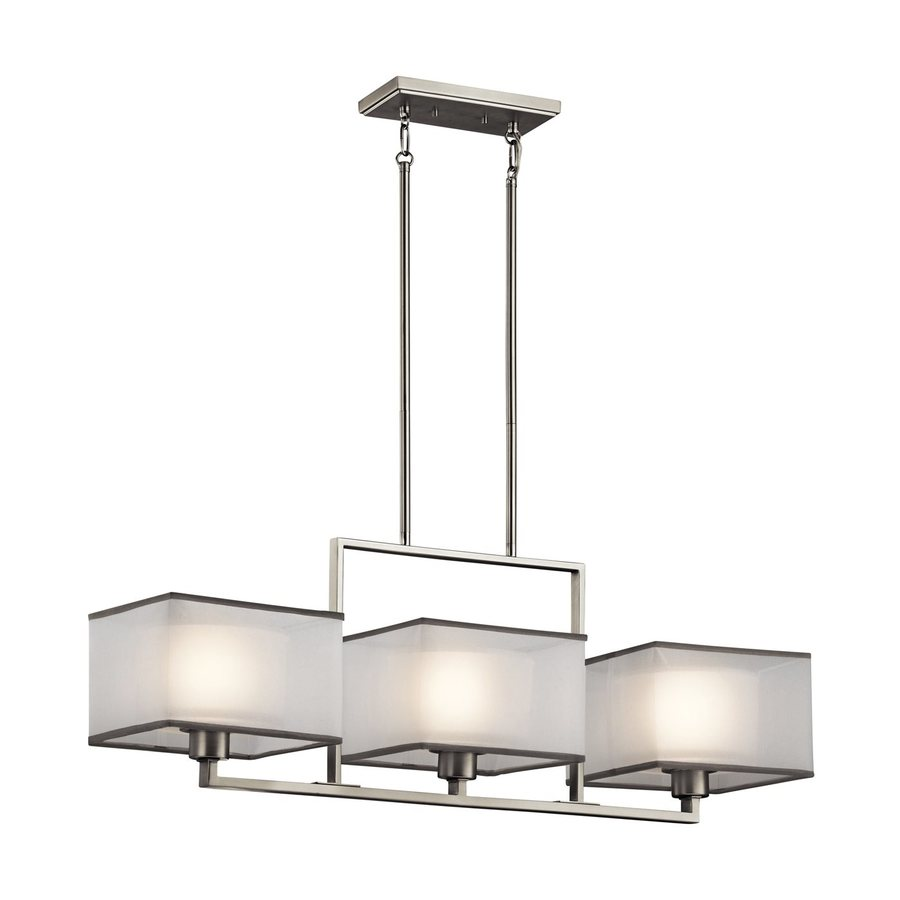Shop Kichler Lighting Kailey 36 In W 3 Light Brushed