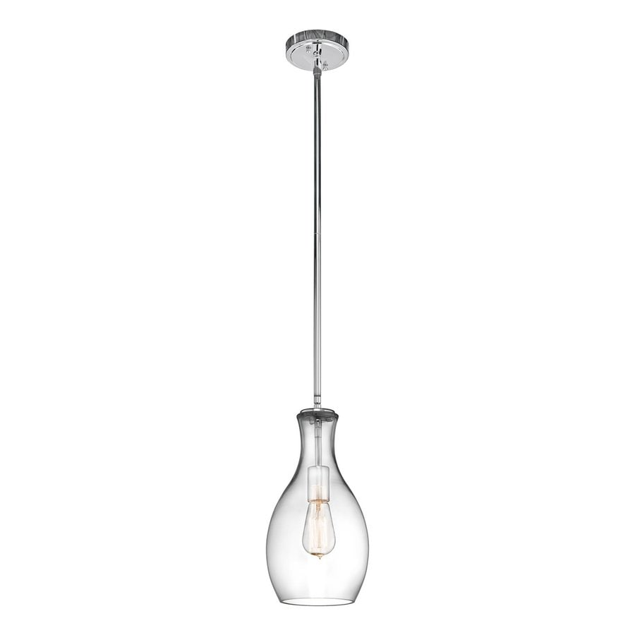Shop Kichler Lighting Everly 7 In Chrome Industrial