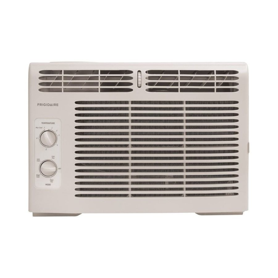 Shop frigidaire 5 000 btu 150 sq ft 115 volt window air for 12 inch high window air conditioner