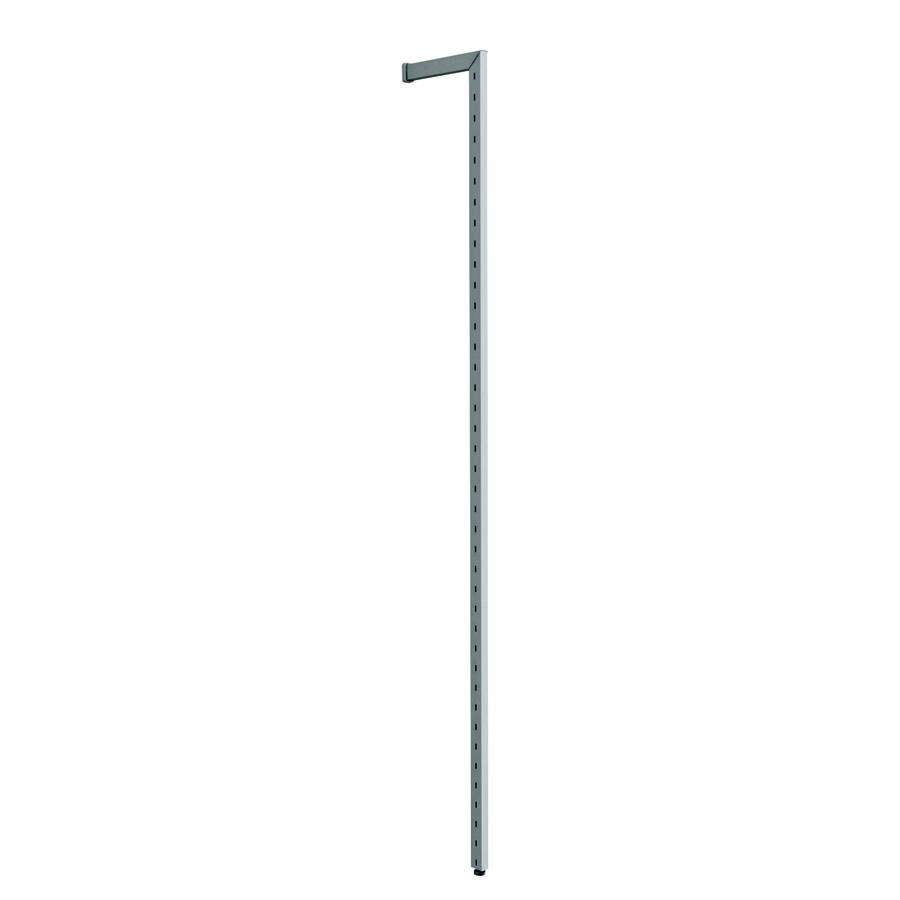 space-pro Steel 80.7-in x 1-in Silver Upright or Stand