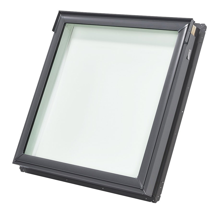 Shop velux fixed laminated skylight with shade fits rough Velux skylight shade
