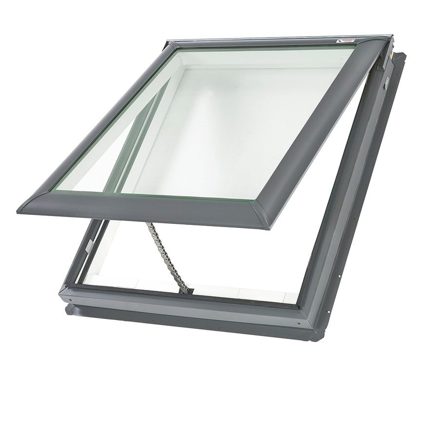 shop velux venting laminated skylight with shade fits rough opening 21 in x actual. Black Bedroom Furniture Sets. Home Design Ideas