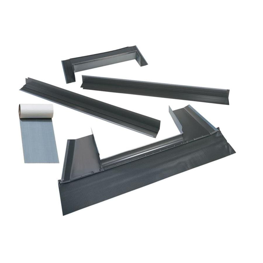 Shop Velux Deck Mount Metal Roof Aluminum Flashing Kit For