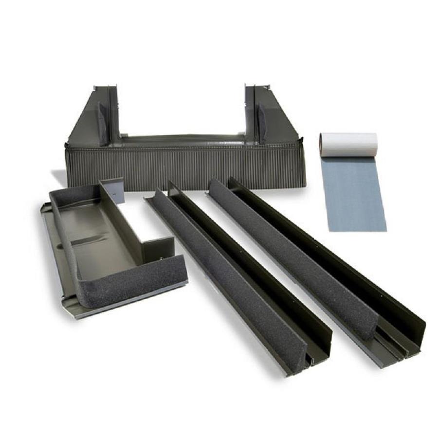 shop velux deck mount tile roof aluminum flashing kit for skylights at. Black Bedroom Furniture Sets. Home Design Ideas