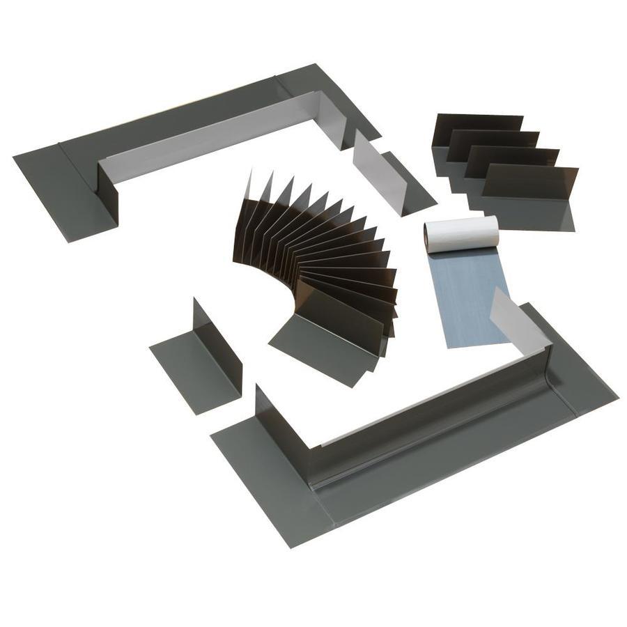 VELUX Curb Mount Shingle Roof Aluminum Flashing Kit for Skylights