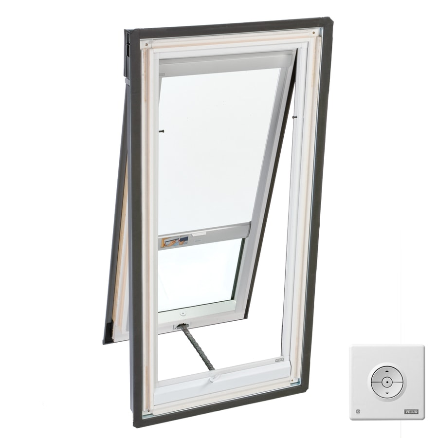 Shop velux venting laminated skylight with solar powered Velux skylight shade