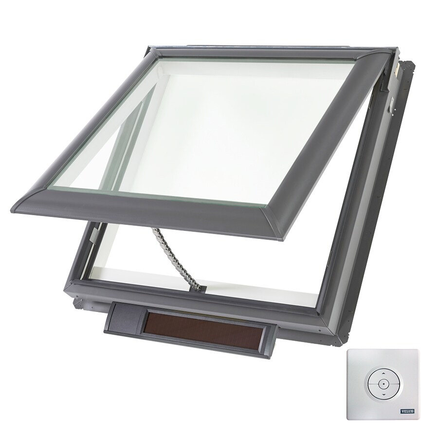 shop velux solar powered venting laminated skylight fits rough opening x. Black Bedroom Furniture Sets. Home Design Ideas