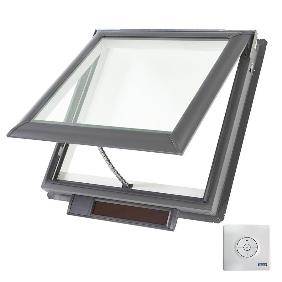 VELUX Solar-Powered Venting Snowload Skylight (Fits Rough Opening: 30.06-in x 30-in; Actual: 33.06-in x 33-in)