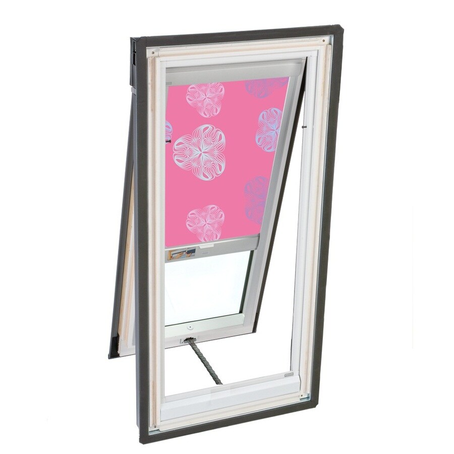 VELUX 30-9/16-in x 54-15/16-in x 5-in Venting Laminated Skylight with Solar-Powered Light-Blocking Shade