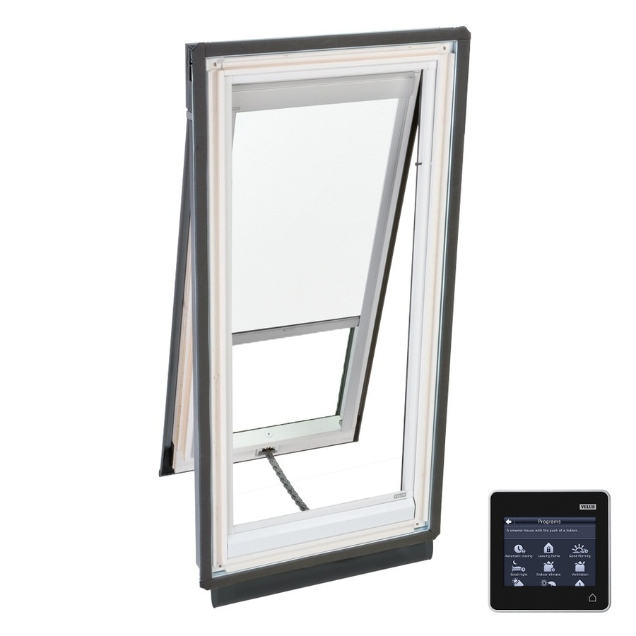 VELUX Solar-Powered Venting Laminated Skylight with Solar-Powered Light-Filtering Shade (Fits Rough Opening: 44.25-in x 45.75-in; Actual: 47.25-in x 48.75-in)