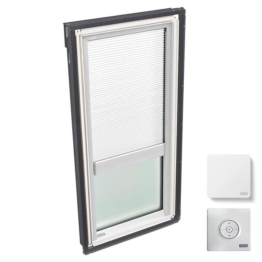 VELUX Fixed Laminated Skylight with Solar-Powered Light-Blocking Shade (Fits Rough Opening: 21-in x 37.88-in; Actual: 24-in x 40.88-in)