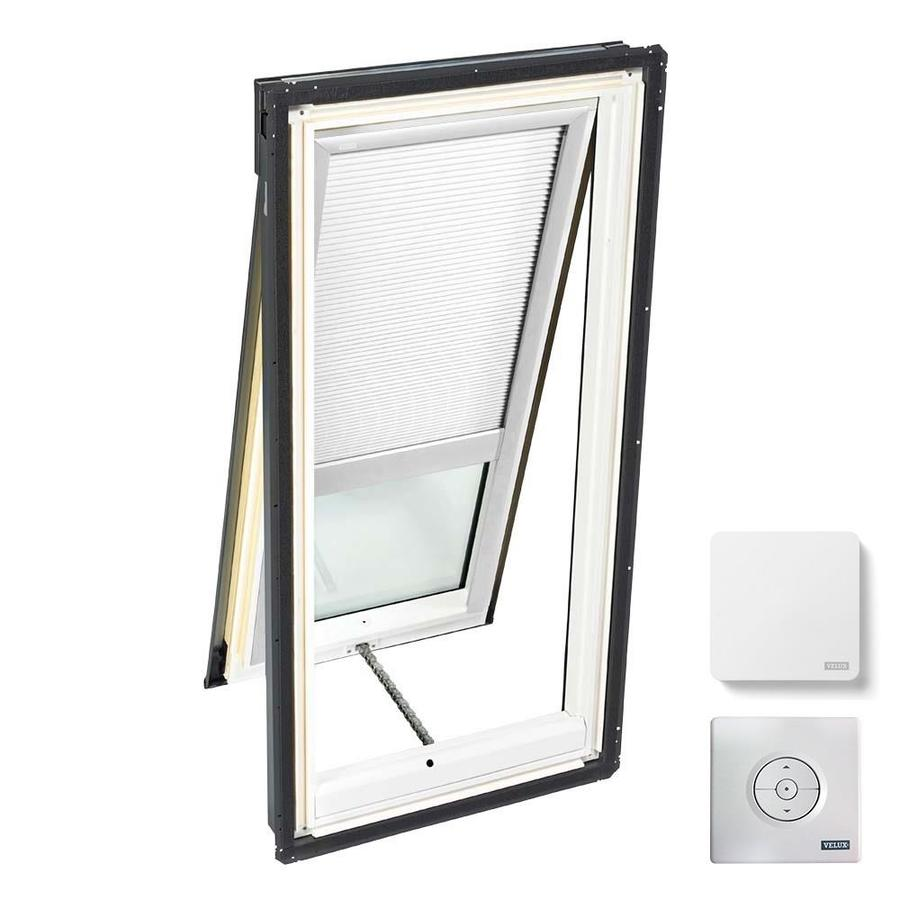 VELUX Venting Laminated Skylight with Solar-Powered Light-Blocking Shade (Fits Rough Opening: 30.06-in x 54.44-in; Actual: 33.06-in x 57.44-in)