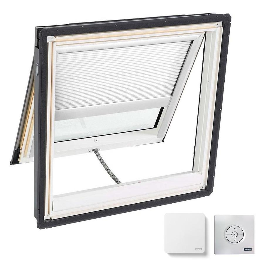 VELUX Venting Laminated Skylight with Solar-Powered Light-Blocking Shade (Fits Rough Opening: 44.25-in x 45.75-in; Actual: 47.25-in x 48.75-in)