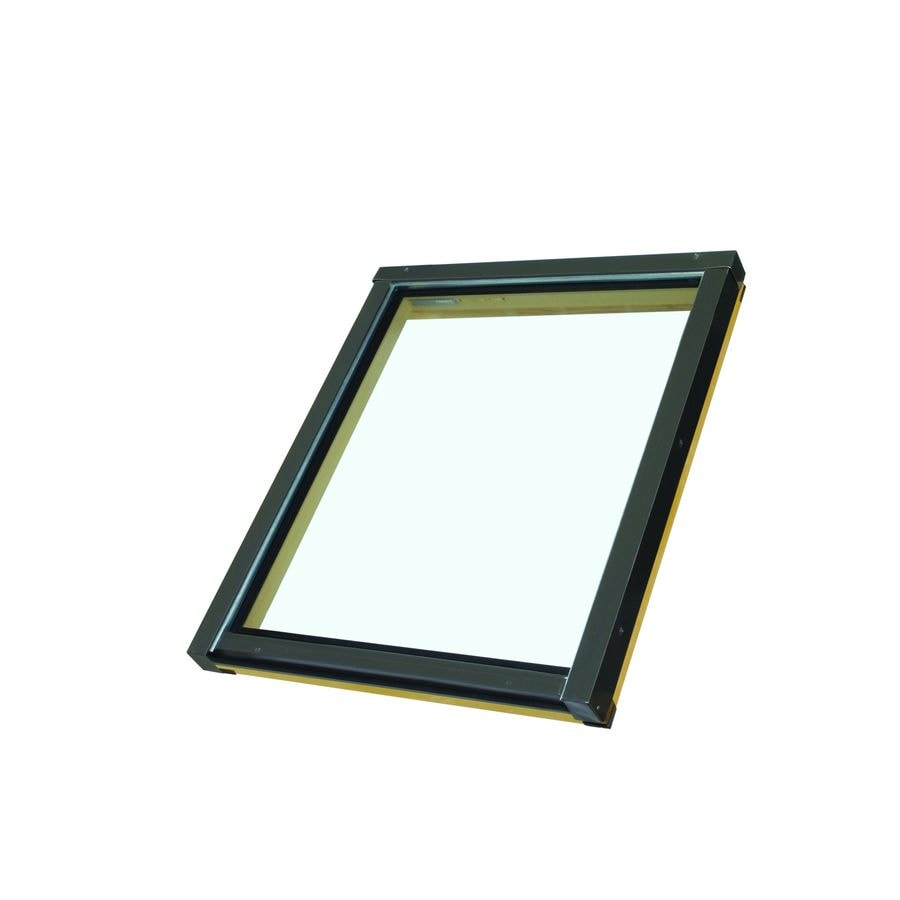 FAKRO Fixed Laminated Skylight with  Shade (Fits Rough Opening: 22.5-in x 26.5-in; Actual: 24-in x 27-in)