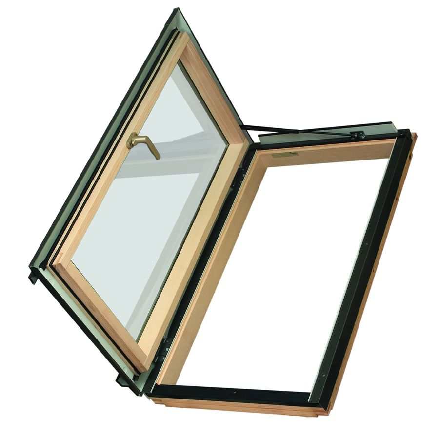 FAKRO Venting Tempered Skylight with  Shade (Fits Rough Opening: 22.25-in x 37.25-in; Actual: 24-in x 38-in)