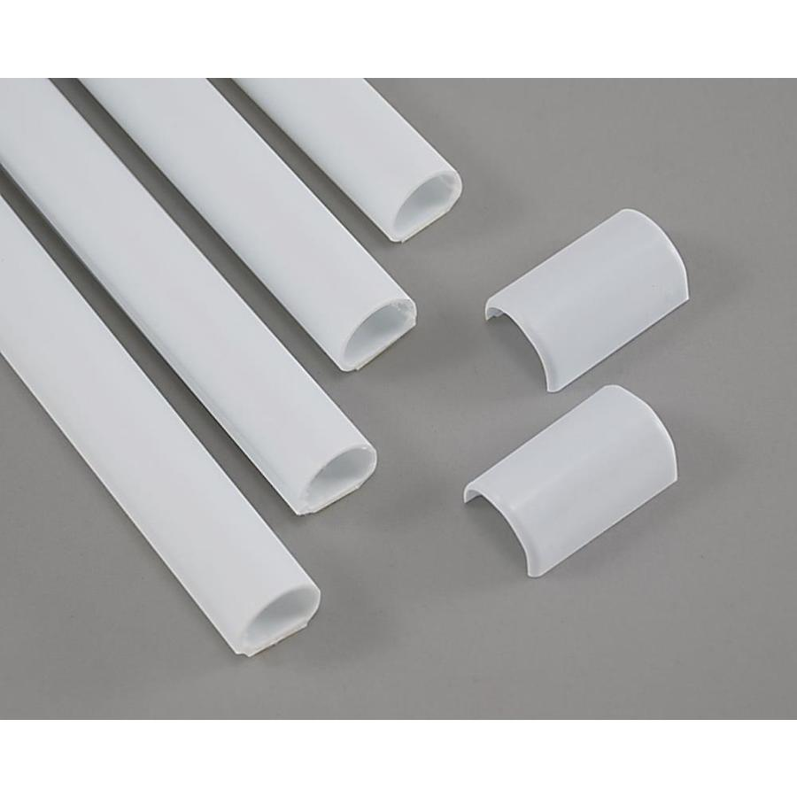 Mono-Systems, Inc. 0.5-in x 192-in White Cord Cover