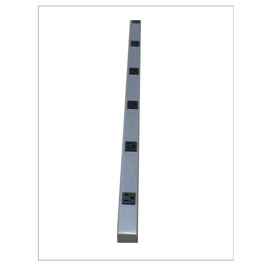 Mono-Systems, Inc. 6-Outlet Metal Power Strip