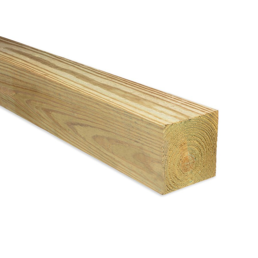 Severe Weather Pressure Treated (Common: 6-in x 6-in x 10-ft; Actual: 5.5-in x 5.5-in x 10-ft) Lumber