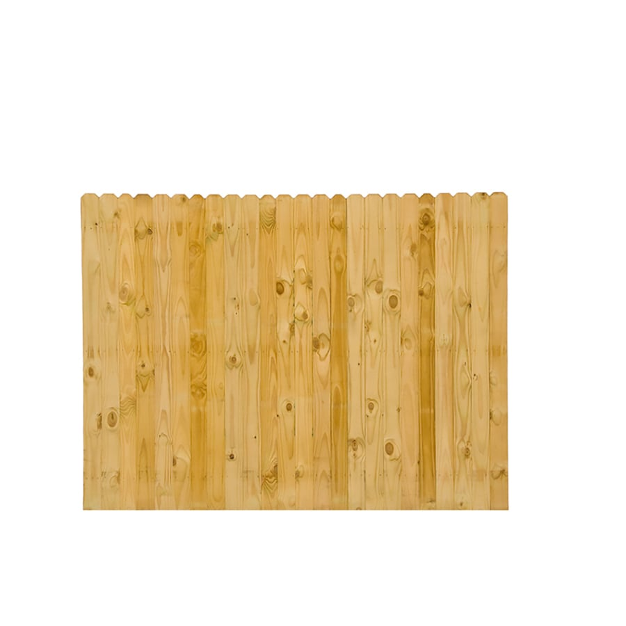 Wood Fencing Pressure Treated 6x8 Stockade Dog Ear ACQ Dade County