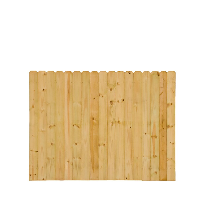 Severe Weather Pressure Treated Pine Fence Panel (Common: 8-ft x 6-ft; Actual: 8-ft x 6-ft)
